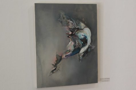 Pictured above is one of Ms. Kei's featured pieces titled,