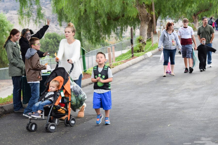 Families attend Boo at the Zoo on Oct. 30 at America's Teaching Zoo. Photo credit: John Louie Menorca