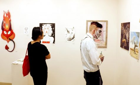 'Angels, Demons and Monsters' take over student art gallery