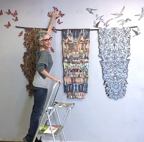 Artist's contemporary papercuts premier at MC Art Gallery