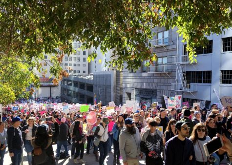 MC students find solidarity and determination at the Women's March
