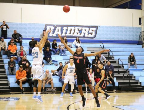 Overtime thriller ends in a hard fought Men's Basketball loss to Ventura College