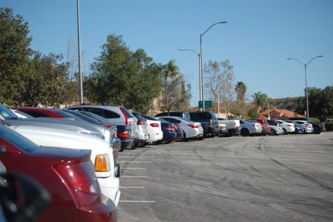Students navigate parking challenges on campus