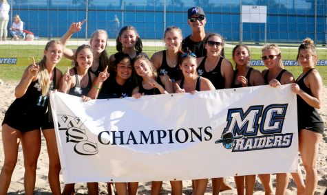Women's beach volleyball are Western State Conference champs in inaugural season