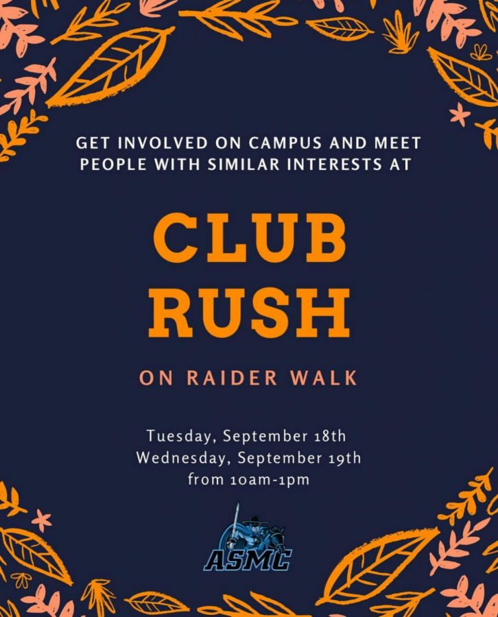 Biannual Club Rush to be held this Tuesday and Wednesday