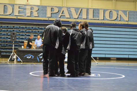 The Raiders lose to East Los Angeles in their last home dual