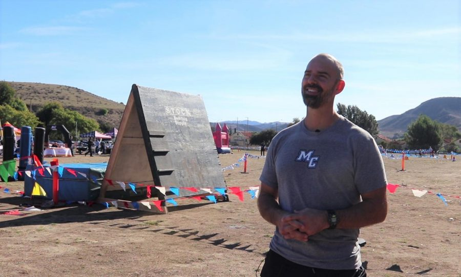 Jeff Kreil, Kinesiology and Health Instructor, hosts Moorpark College's seventh annual Xtreme Raider Challenge. Xtreme Raider Challenge is an obstacle course race that's helped raise blood marrow donors since 2014. Photo credit: Shariliz Poveda