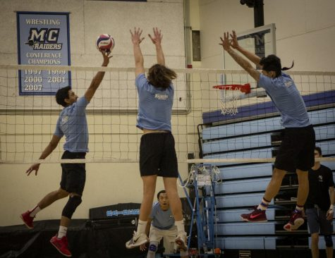 Moorpark College volleyball brings back former players for their annual alumni game