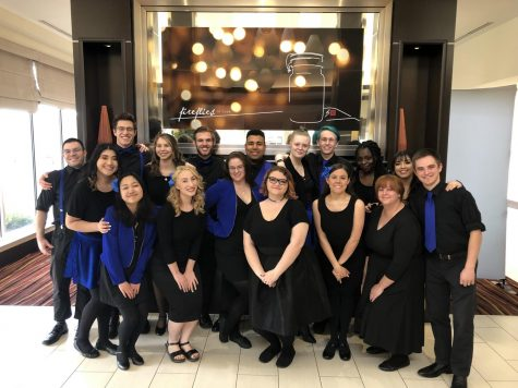 Underdog A cappella group Dynamix competes in internationally renown tournament for the title