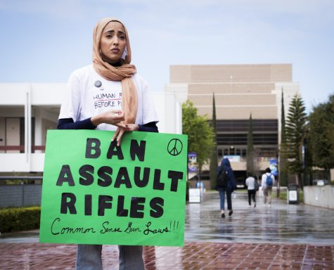 Muslim students organize a peace walk to honor victims of the Christchurch, New Zealand shootings