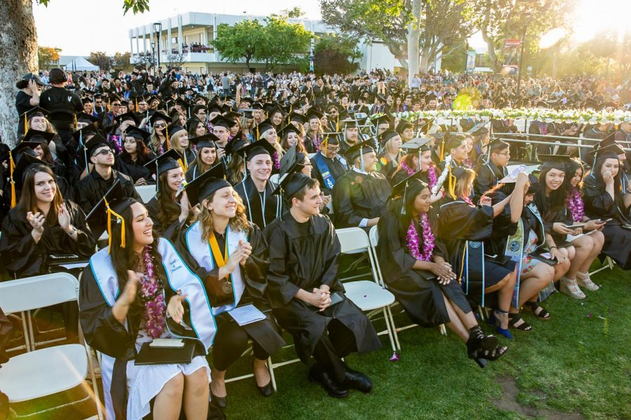 The+sun+sets+%28literally+and+figuratively%29+on+Moorpark+College%27s+class+of+2019+after+having+received+their+diplomas+during+Moorpark%27s+52nd+Commencement+Ceremony%2C+held+on+Friday%2C+May+17%2C+2019.+Photo+credit%3A+Jace+Kessler