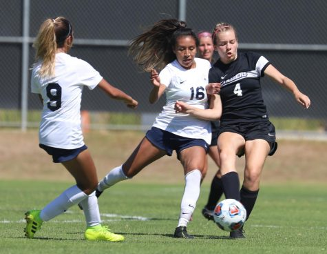 Moorpark Raiders women's soccer team scores late to take back victory against El Camino at home