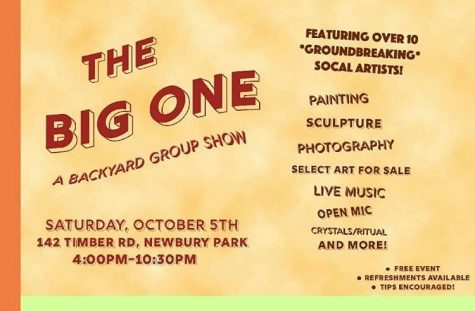 The Big One: A backyard group show where locals are given the opportunity to exhibit art