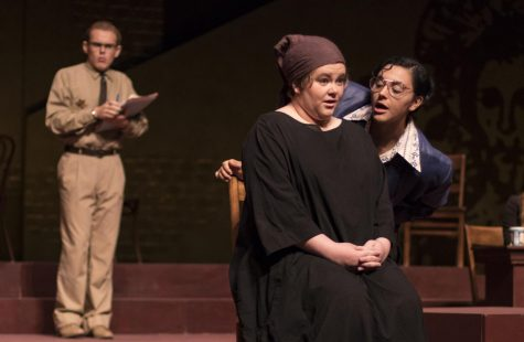 Unveiling Moorpark's theatre talent: The Last Days of Judas Iscariot opening premier