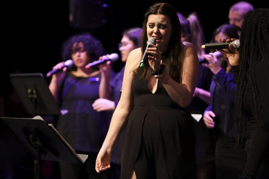 Student led concert shines a spotlight on talented vocalists through a cappella