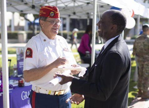 Veterans Resource Center holds celebration in honor of veterans