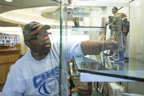 Moorpark College library hosts display of iconic service members for Black History Month