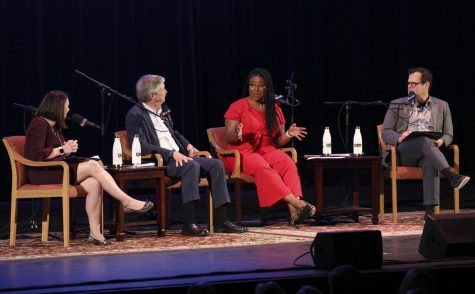 NPR reporters and correspondents bring national politics to Thousand Oaks for a live podcast taping