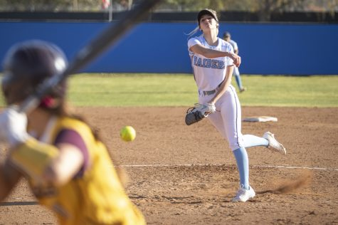 Raiders Softball throws the heat in their first home game of the season