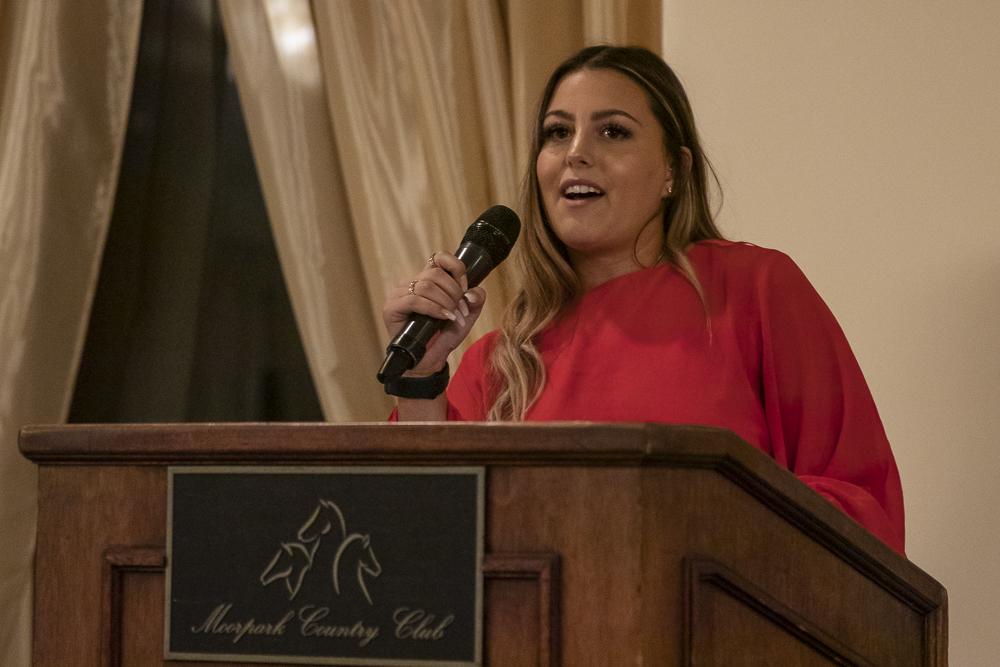 Co-captain Erica Felder