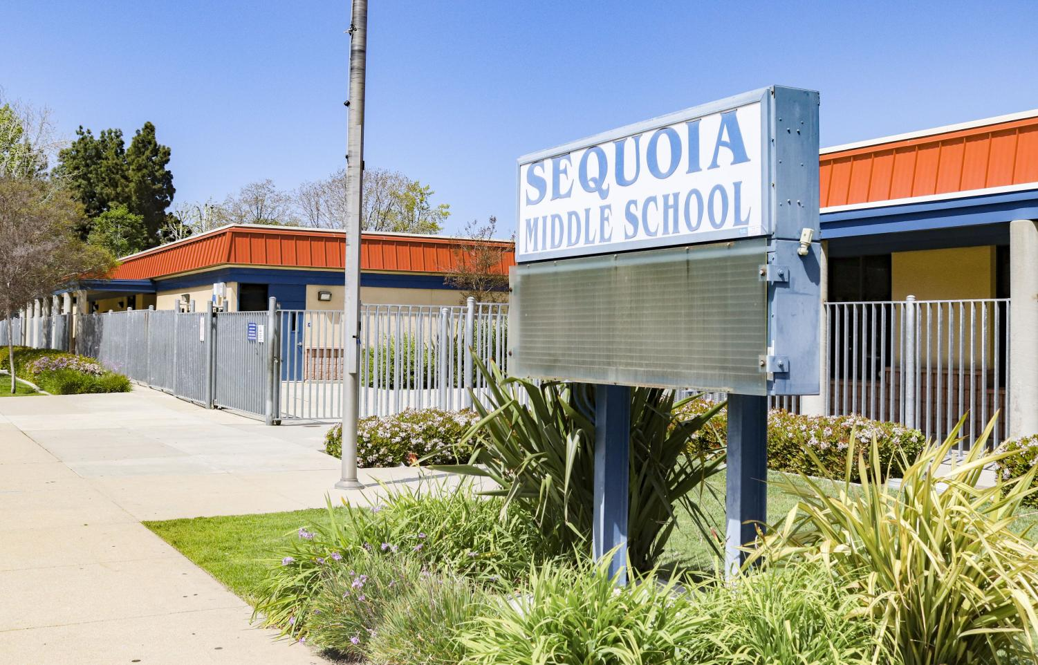 Sequoia Middle School in Newbury Park, Calif. closed on Friday, April 3, due to COVID-19 concerns in California.