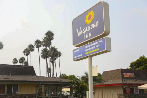 The city of Oxnard is considering the Vagabond Inn to provide housing for homeless people on Tuesday, Sept 8, in Oxnard, CA. Photo by Ryan Bough