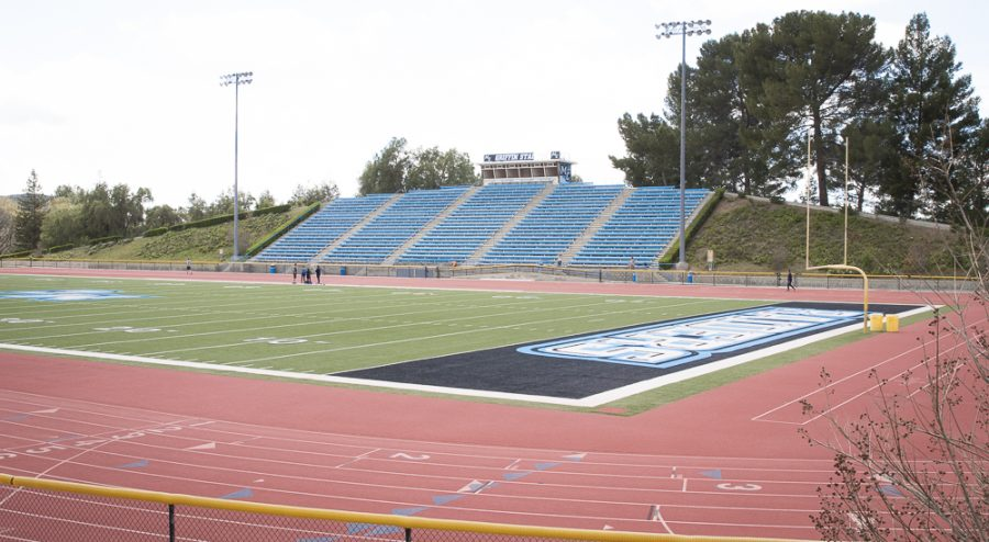 Moorpark+track+and+field+on+Tuesday%2C+March+23+at+Moorpark+College+Photo+credit%3A+Evan+Reinhardt
