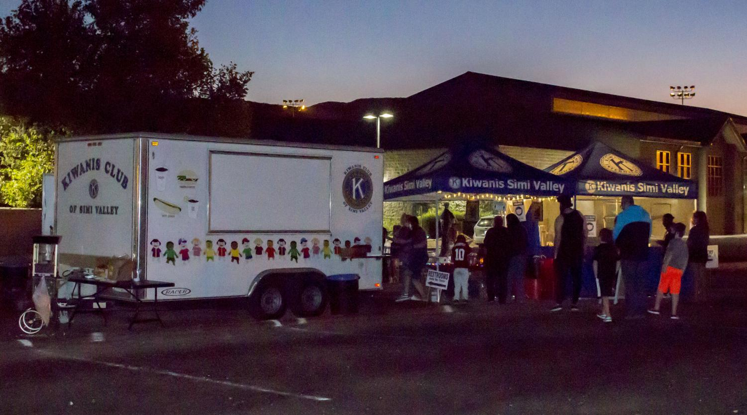 The Kiwanis Club of Simi Valley sells and prepares food for attendees of ___ at Rancho Santa Susana Community Park on Thursday, Oct. 29.