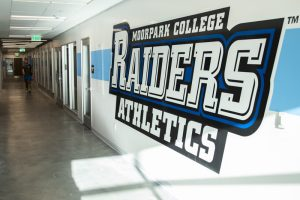 After renovation, the gym now has updated offices, locker rooms and weight rooms. Photo credit: Evan Reinhardt