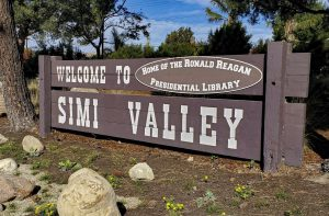 "A ""Welcome to Simi Valley"" sign sits off of Madera Rd. in Simi Valley, CA. on Tuesday, Nov. 17, 2020. Photo credit: David Chavez"
