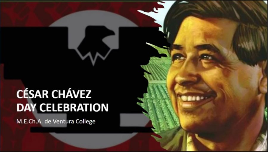 On April 8, Ventura College and M.E.C.H.A hosted a virtual meeting to celebrate and highlight the efforts of Cesar Chavez.