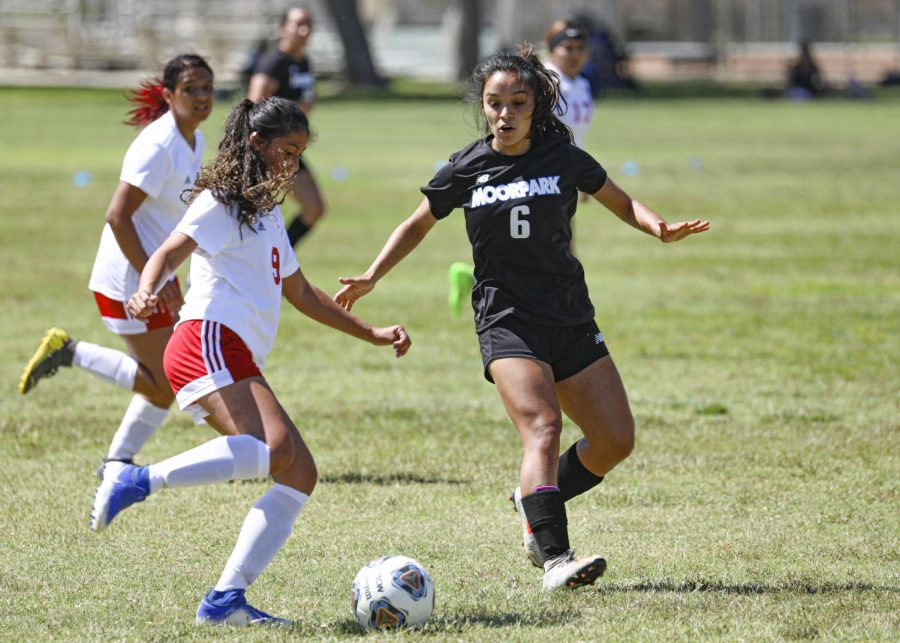 Moorpark Women's Soccer dominates Imperial Valley with 4-0 blowout in season opener