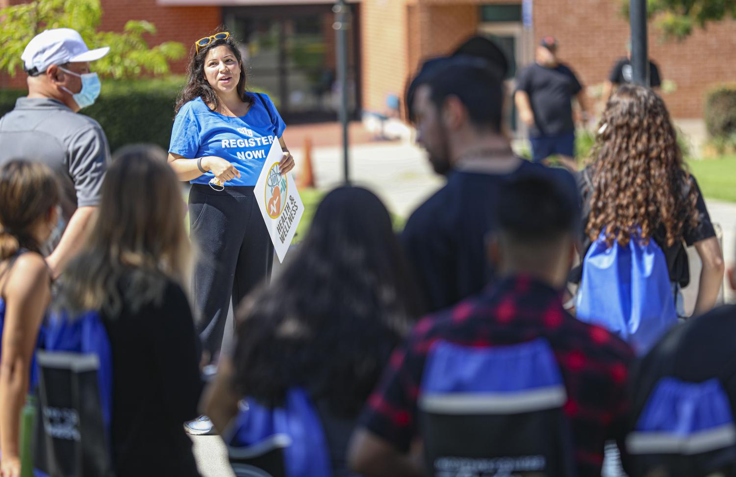 Moorpark+College+welcomed+first-year+students+on+campus+Monday+for+one+of+its+first+in-person+events+since+the+beginning+of+the+COVID-19+pandemic+for+New+Student+Welcome+Day.