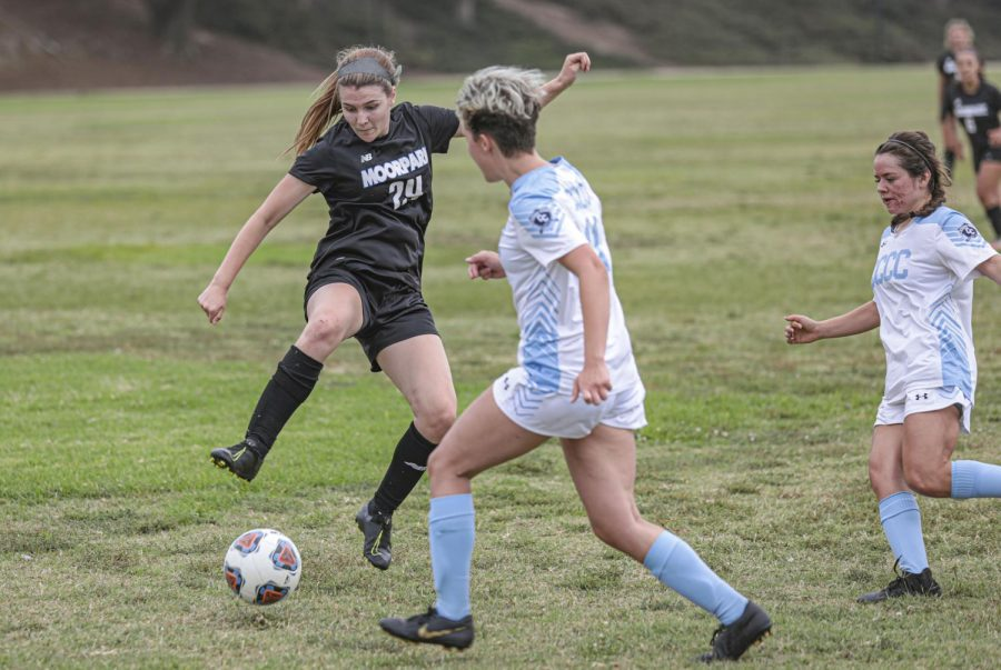 Moorpark women's soccer shuts out Cerro Coso in a 5-0 blowout