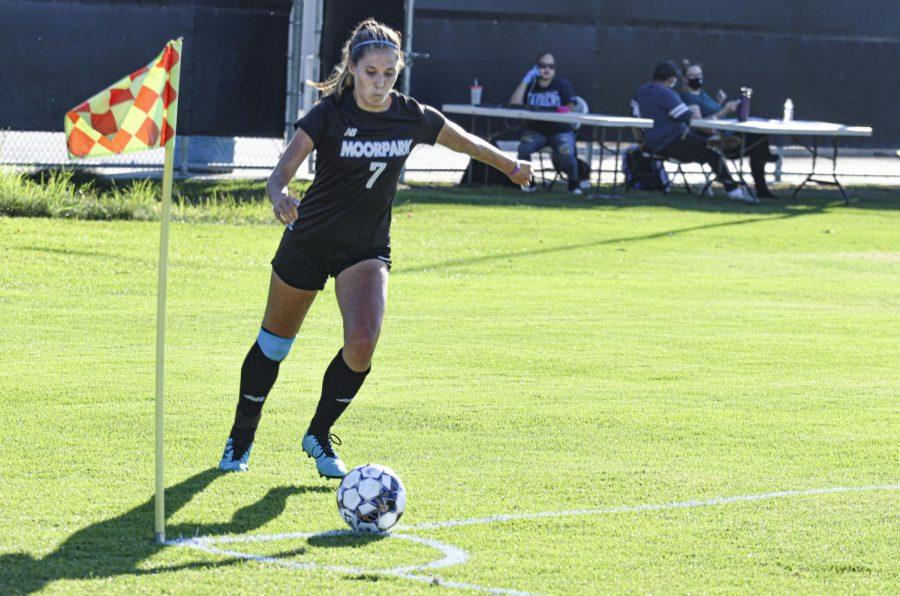 Moorpark College women's soccer snaps losing streak in Cuesta matchup